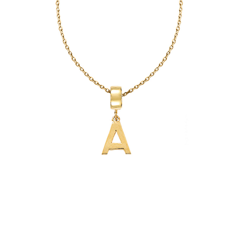 [Cita Collection]BS-ALPHABET + CHAIN NECKLACE